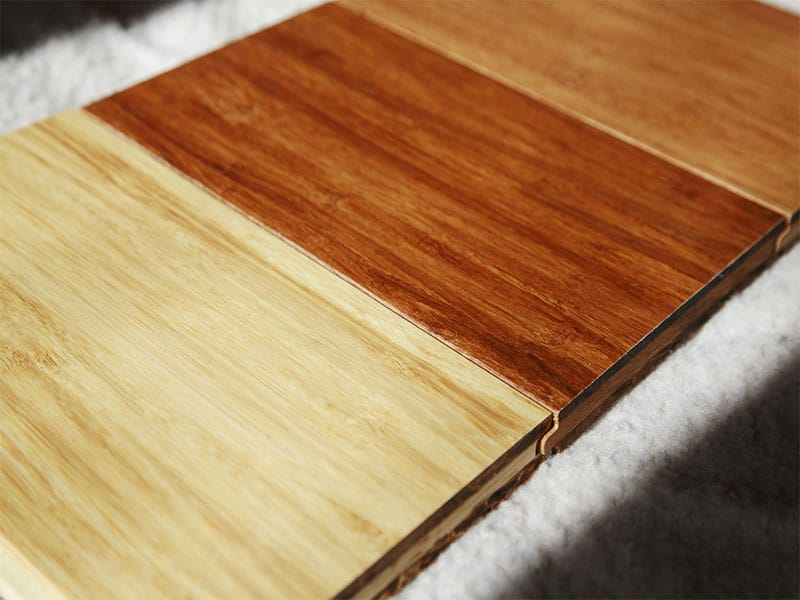 Bamboo Flooring Different Colors