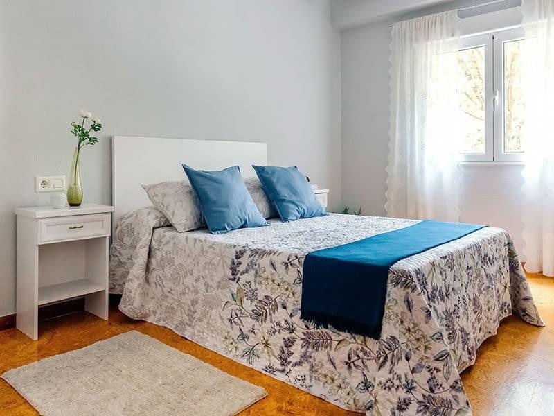 Cork Flooring in Bedroom