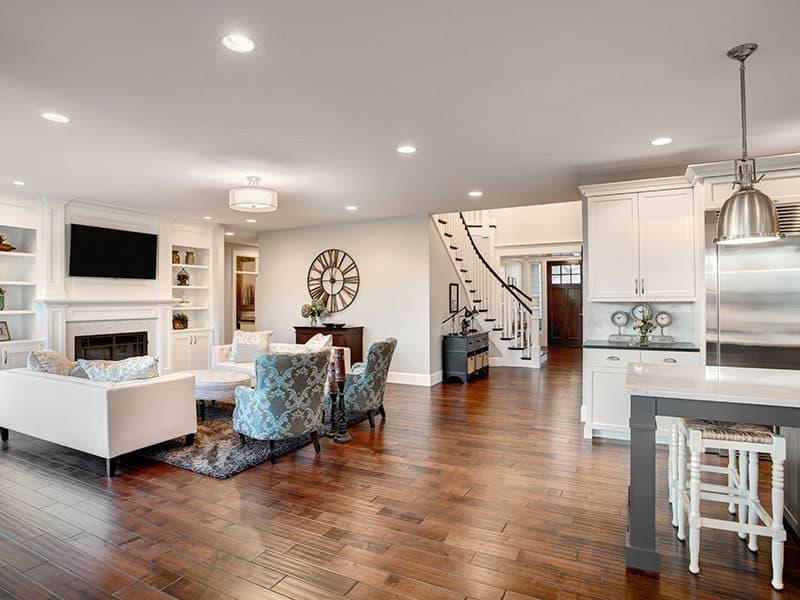 Hardwood Floors Living Room