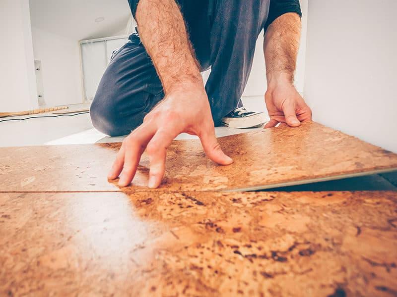 Installing Floating Cork Floor