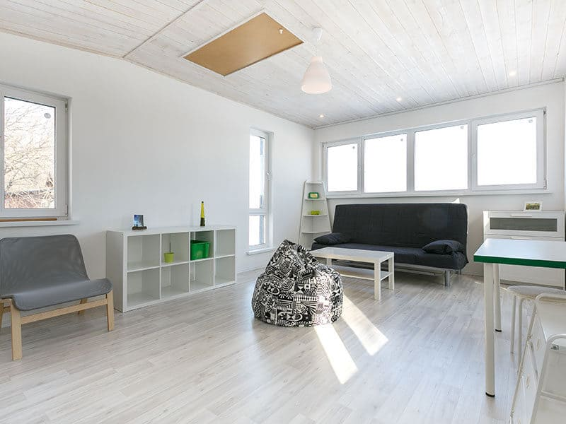 Light Colored Mannington Laminate Floor