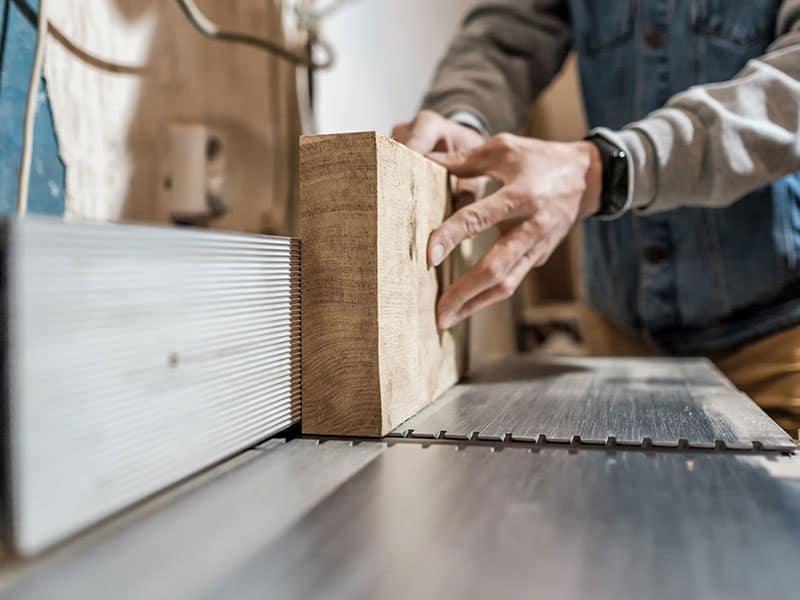 Man Making Wooden Parts