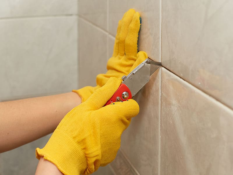 Removing Old Grout