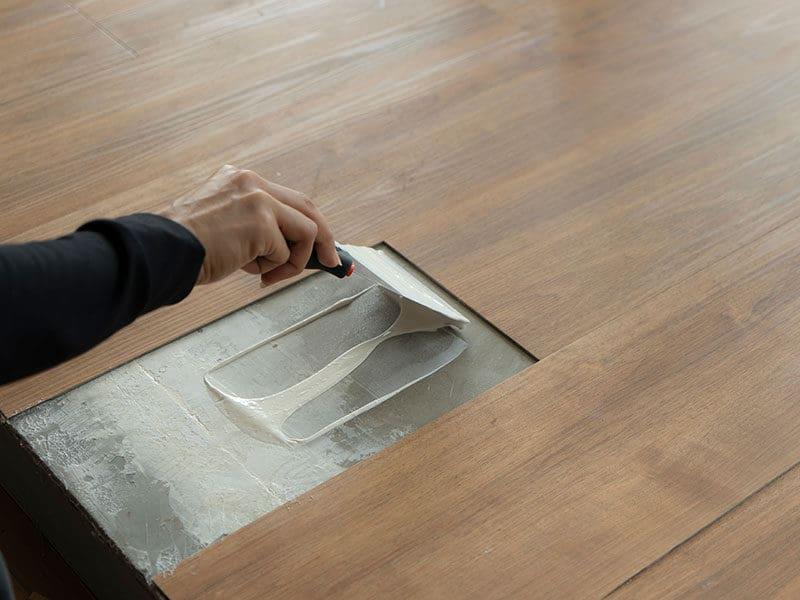 Replacing Damaged Mannington Plank