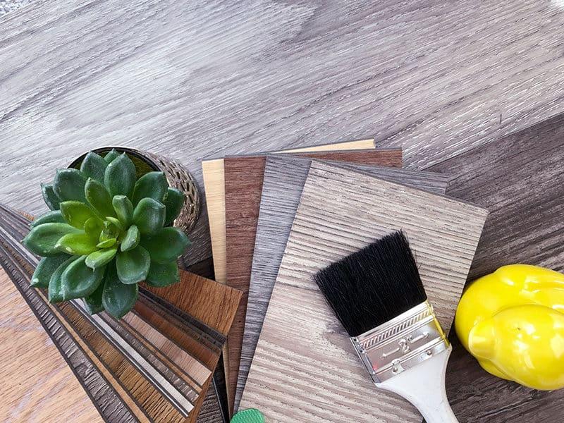 Samples Wooden Vinyl Flooring
