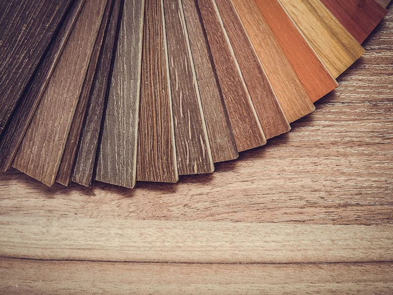 Small color sample boards