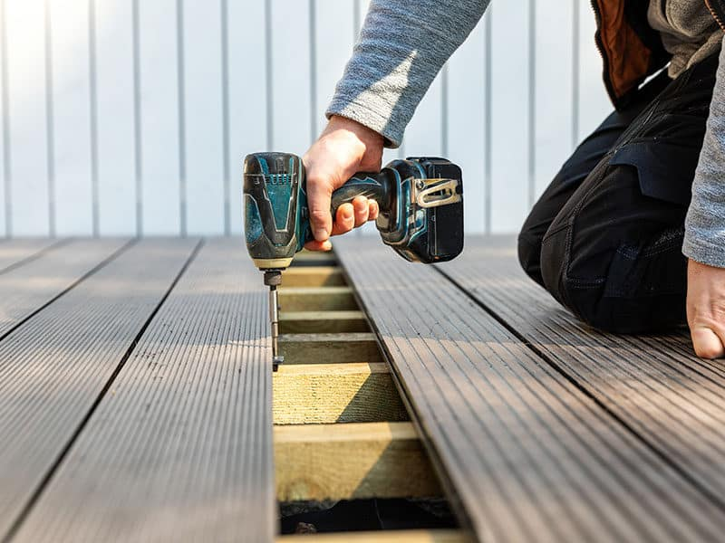 Terrace Deck Construction