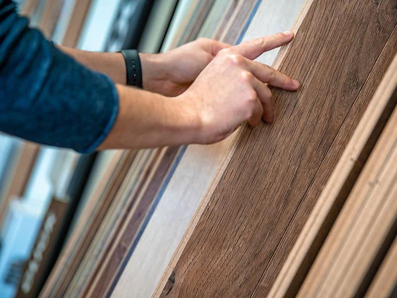 Wooden Floor Of Samples