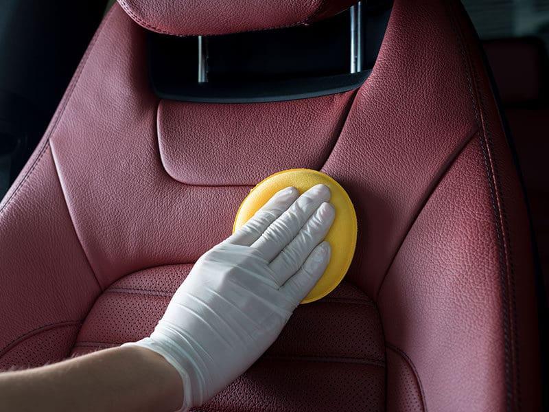 Car Seats Detailed Clean