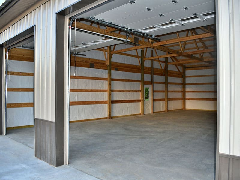 Construction Twocar Garage