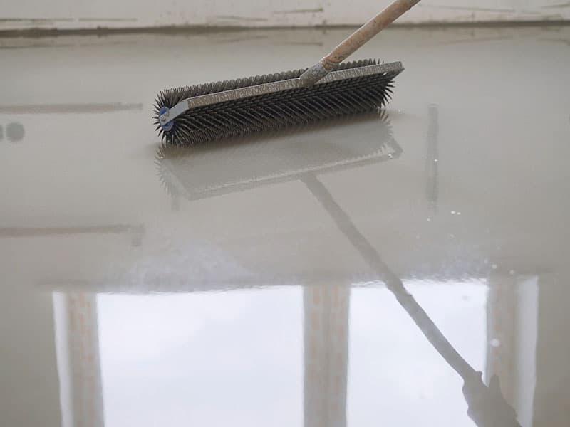 Floors Cement Mixture Needle