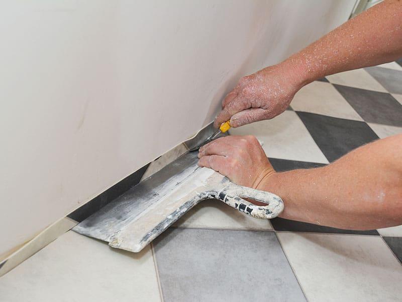 Installing Linoleum Vinyl Flooring