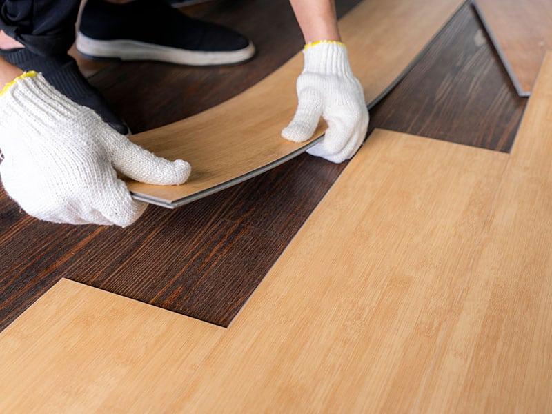 Installing Vinyl Floor