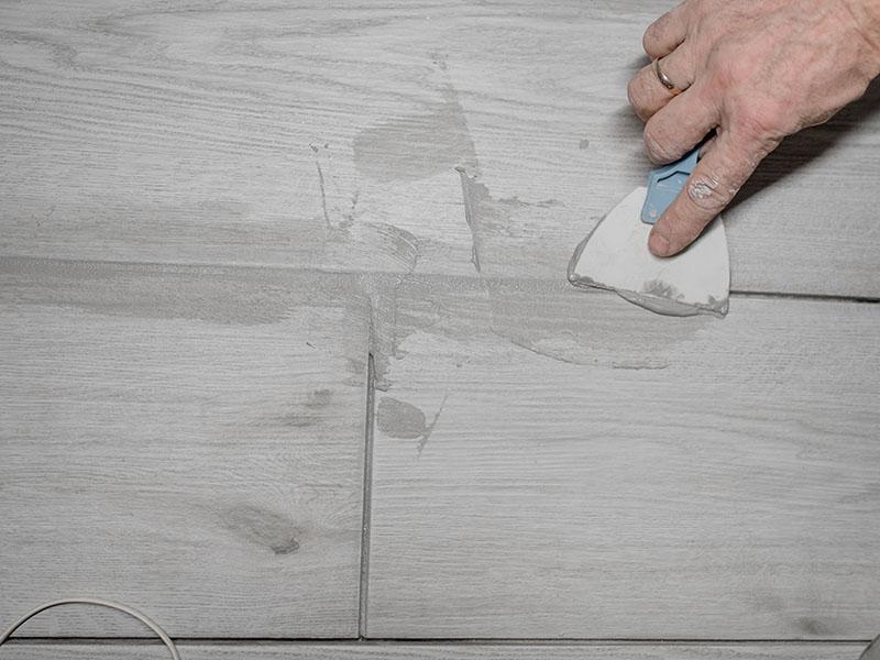 Jointing Floor Tiles