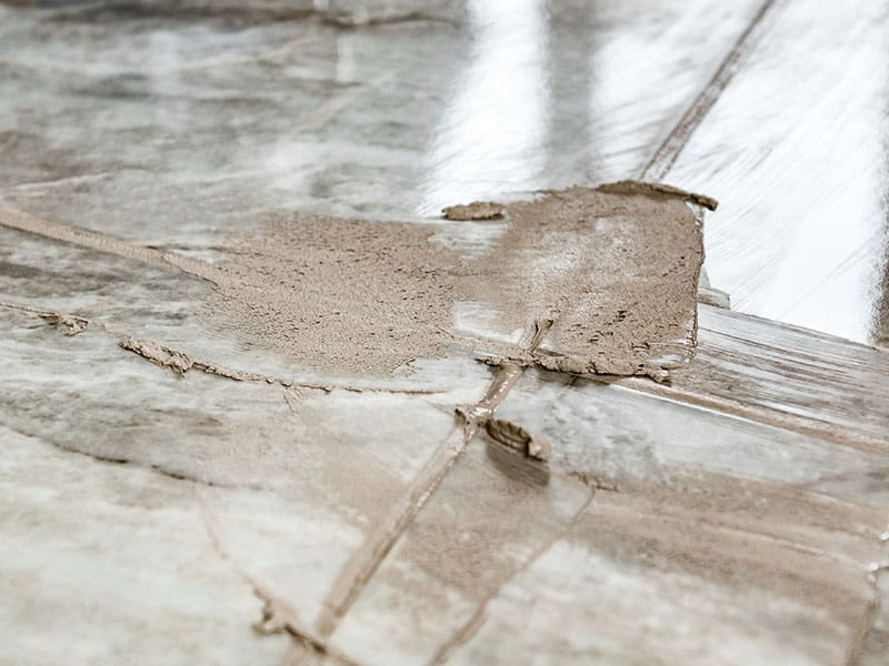 Light Colored Grout Stains