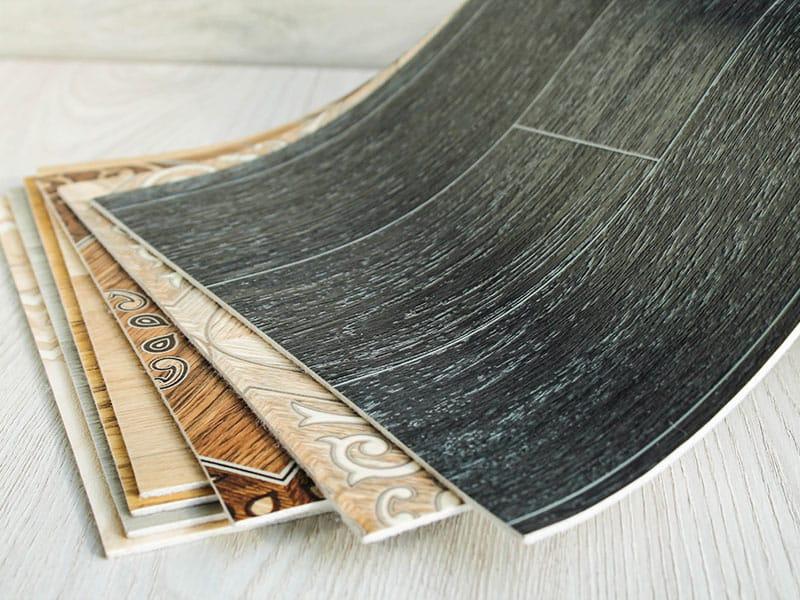 Linoleum Samples Flooring Set