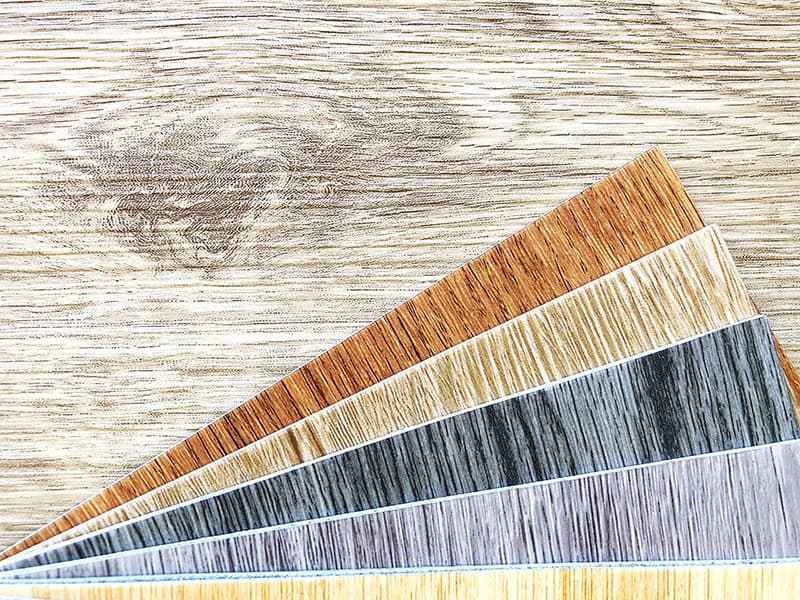 Luxury Vinyl Wood Floor