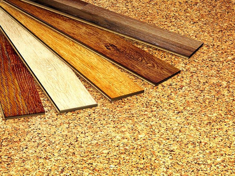 Parquet Cork Flooring Texture