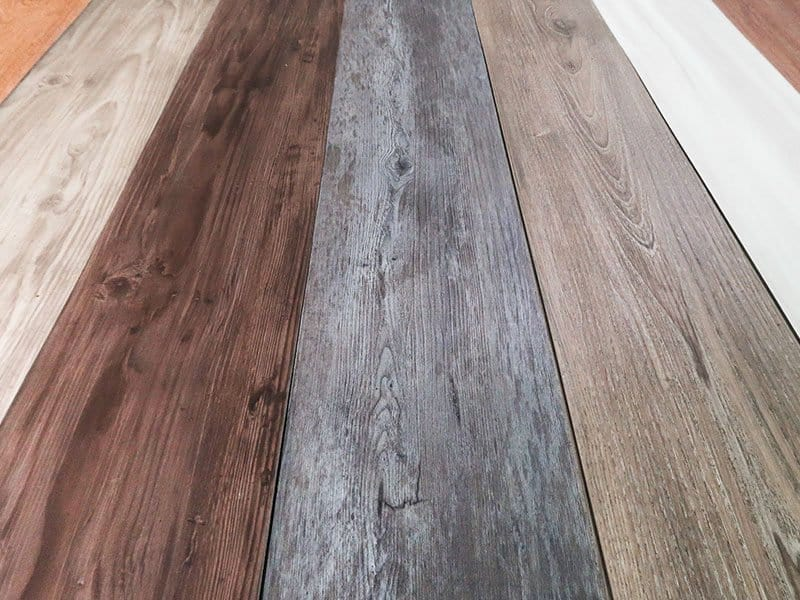 Various Tile Hybrid Vinyl Plank Floor