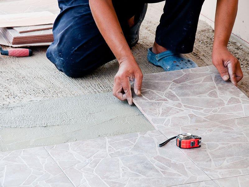 Outdoor Tile Floor