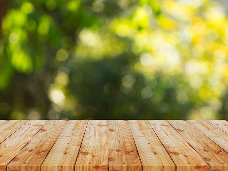 Reclaimed Wood Pallet Floor