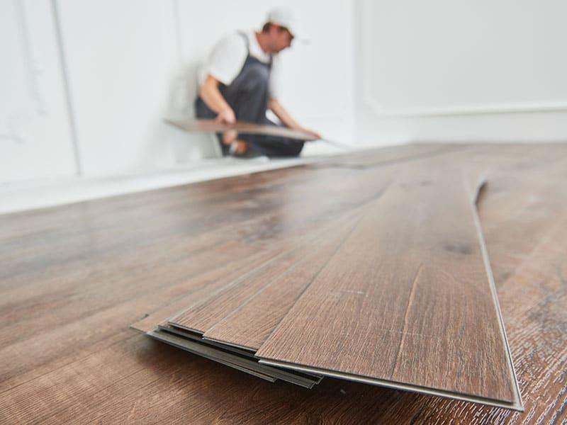 Vinyl Floor Covering Home