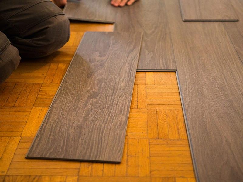 Vinyl Floor Parquet Flooring