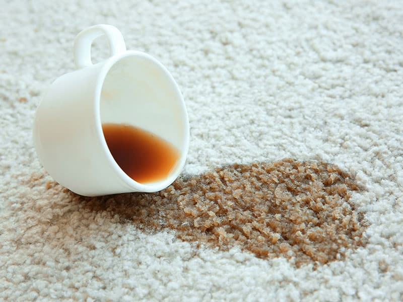 Cup Coffee Spilled