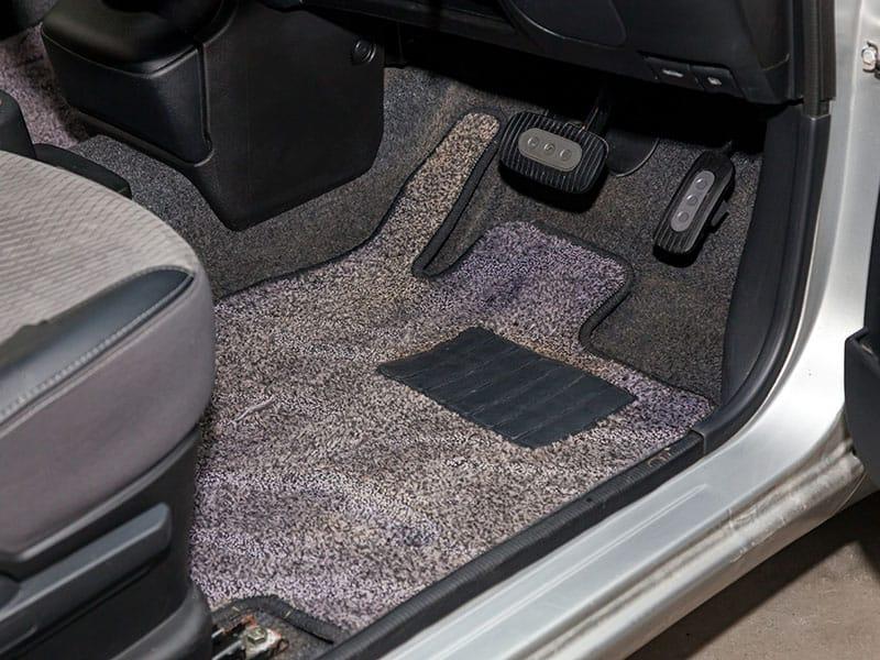 Dirty Car Floor Mats